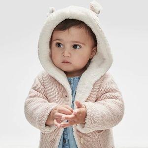 Baby Gap Knit Fuzzy Sweater
